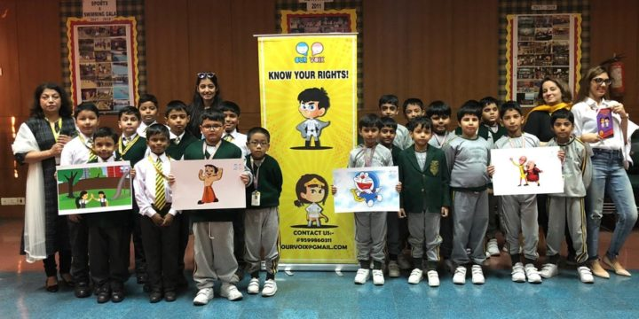 Universal Children's Day Celebration by Spreading Awareness about Children Safety