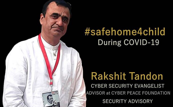 How to be Cyber Safe. In conversation with Mr Rakshit Tandon | Our Voix #safehome4child